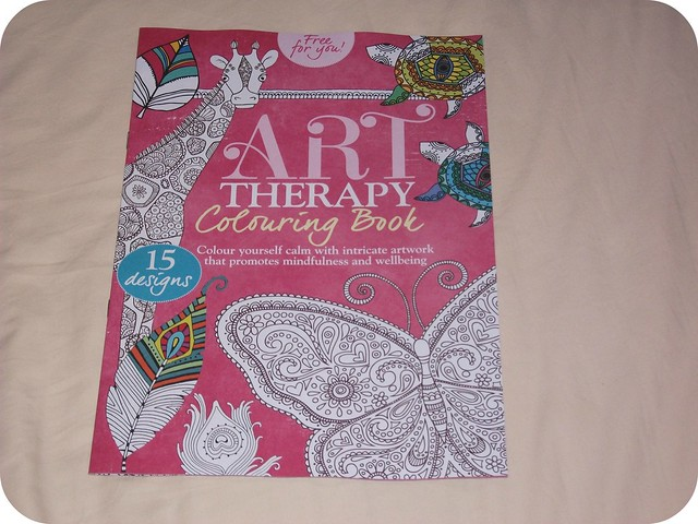 Crafts Beautiful Art Therapy Colouring Book July 2015 Magazine Freebies