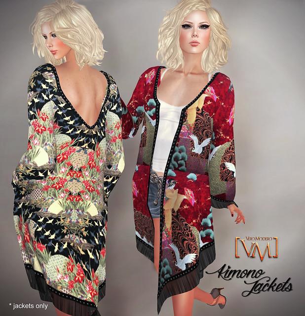 [VM]  VERO MODERO Kimono Jackets