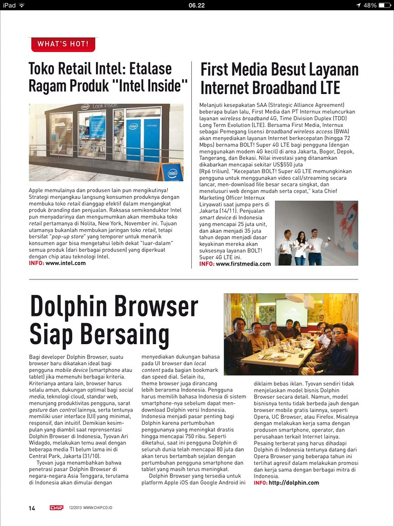chip magazine dolphin browser indonesia