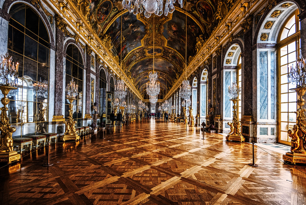 Hall Of Mirrors Palace Of Versailles Paris France Flickr