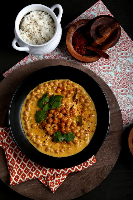 Mango Curry Chickpeas