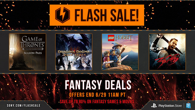 PlayStation Store: June Flash Sale