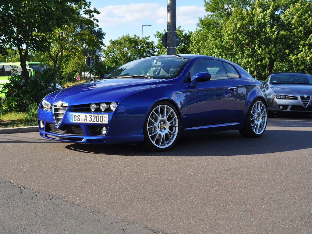alfa romeo brera 3 2 jts v6 24v q4 alfa club berlin avus m flickr. Black Bedroom Furniture Sets. Home Design Ideas
