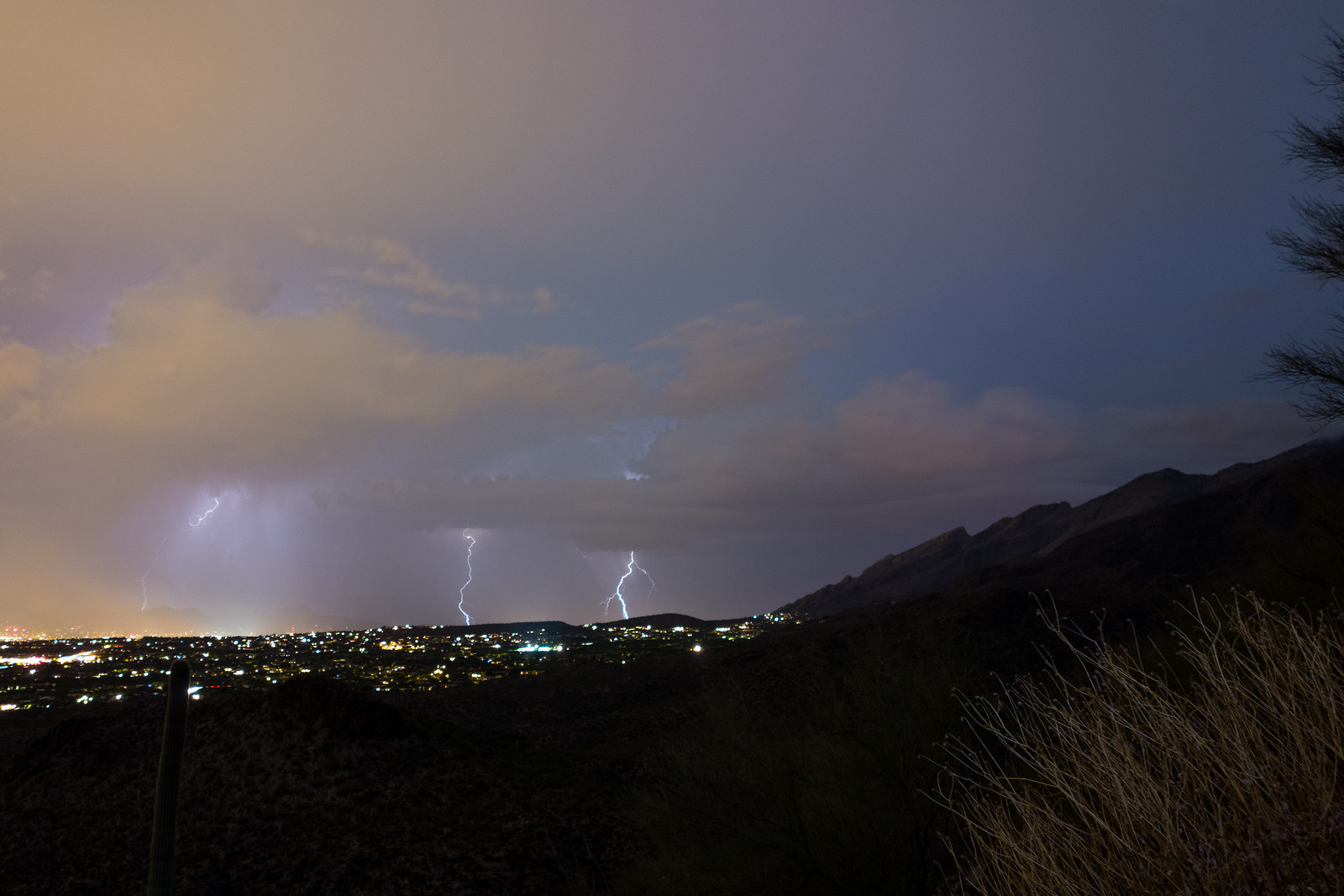 1506 Lightning from the Phoneline Trail