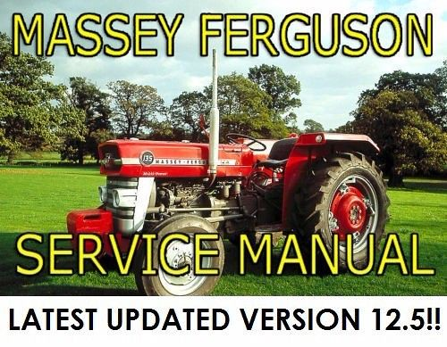 massey ferguson 165 tractor service repair manual