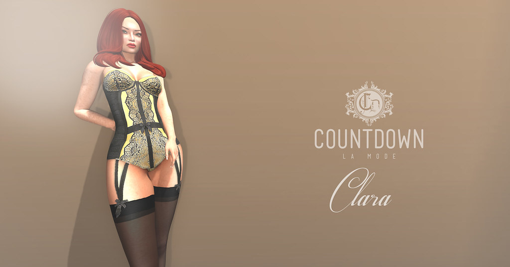 ... Countdown Clara Lingerie AD | by AntoniaXp *CD* Countdown