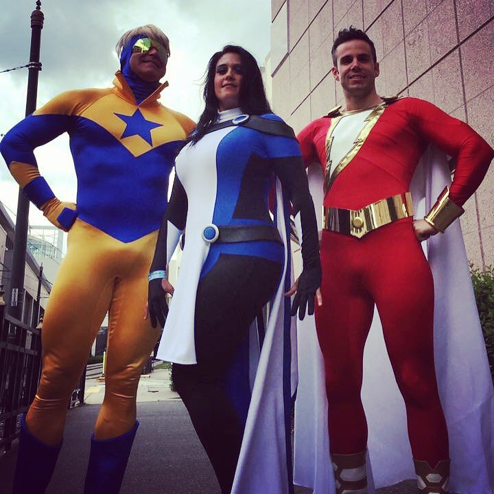 Equinox And New 52 Shazam Captain Marvel