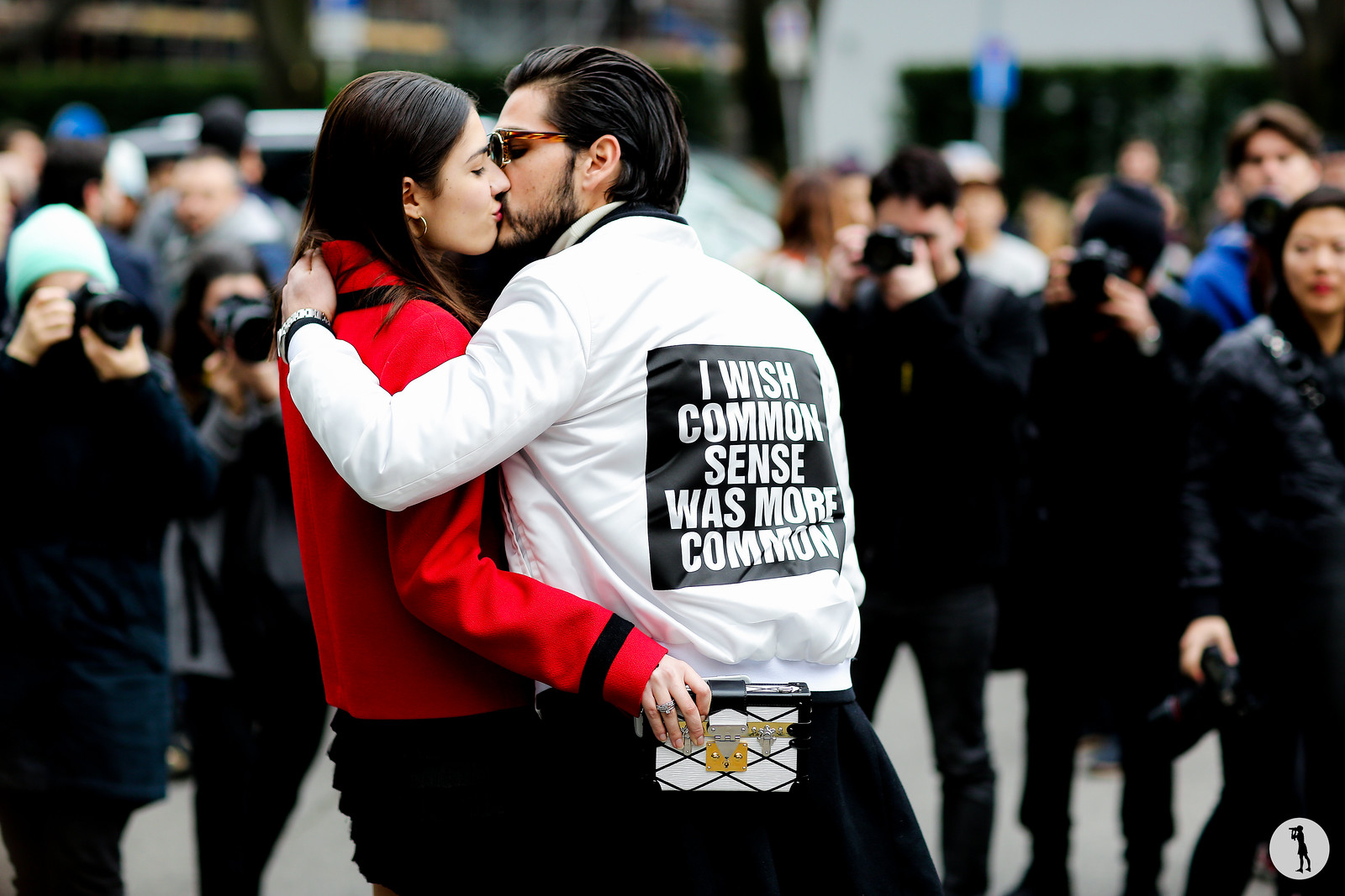 Patricia Manfield and Giotto Calendoli - Milan Fashion Week RDT FW15-16 (1)