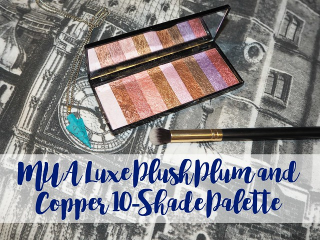 MUA Luxe Plush Plum & Copper 10-Shade Palette