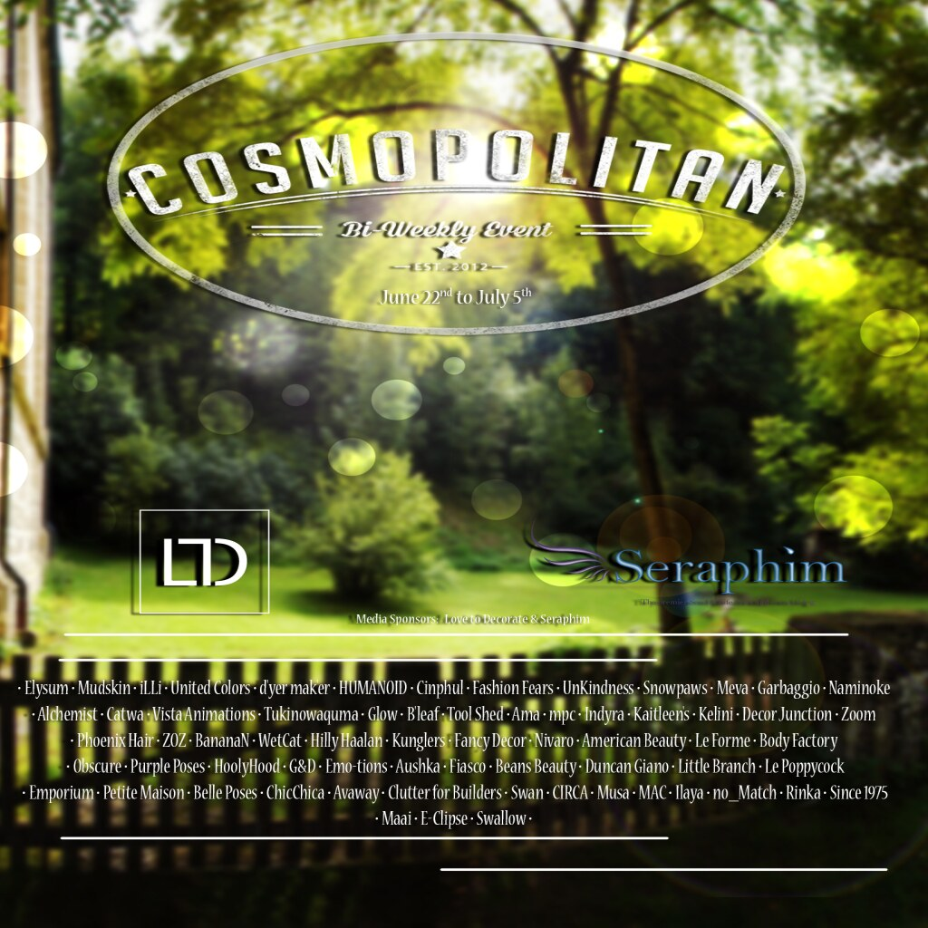 Cosmopolitan {Round 18-3} 22th June - 5th July