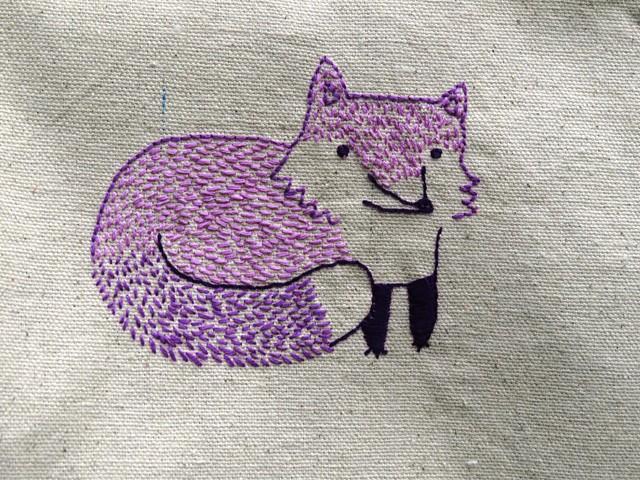 Foxy beach bag