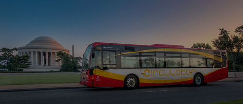DC Circulator bus and the Jefferson Memorial