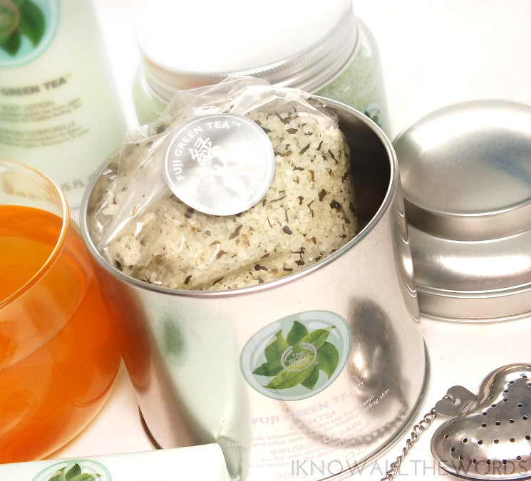 The Body Shop Fuji Green Tea Bath Tea (2)