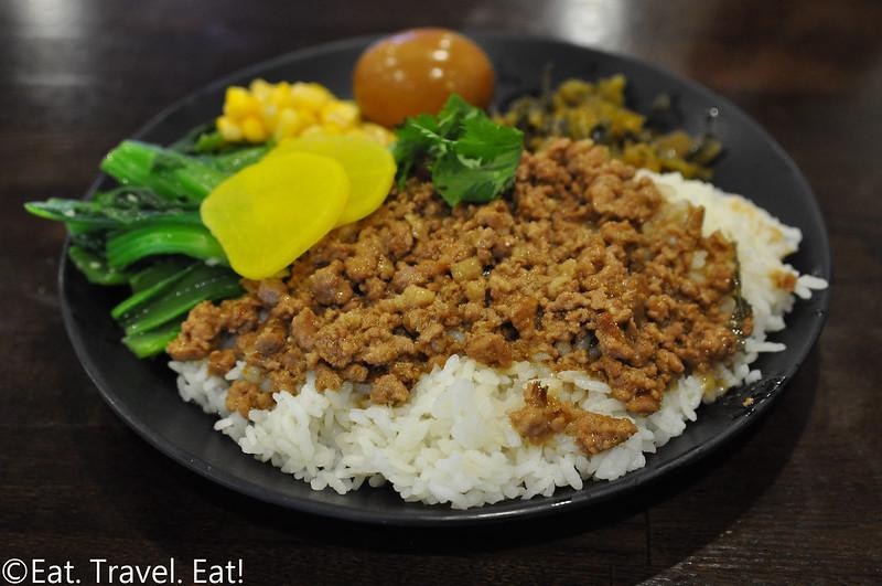 Yi Mei- Monrovia, CA: Minced Meat Rice