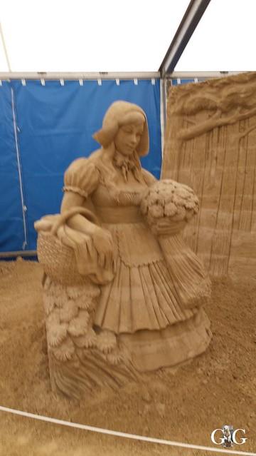 Swinemünde Sand Skulpturen Festival 201573