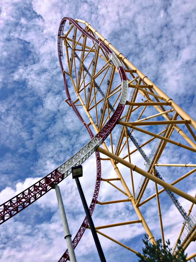 Top Thrill Dragster Sandusky Ohio Michelle Flickr