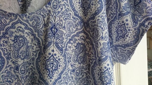 Sew DIY Lou Box Top pocket detail