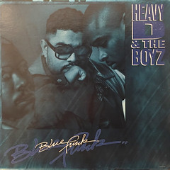 HEAVY D & THE BOYZ:BLUE FUNK(JACKET A)
