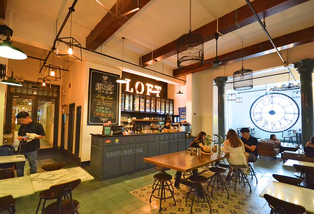 the loft café ho chi minh city