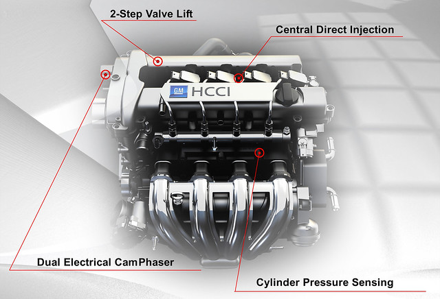 GM HCCI combustion and other enabling fuel-saving technologies