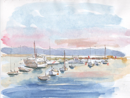 Monterey CA marina