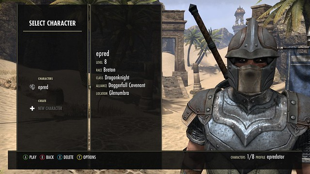 Looking suitably masked in elder scrolls online