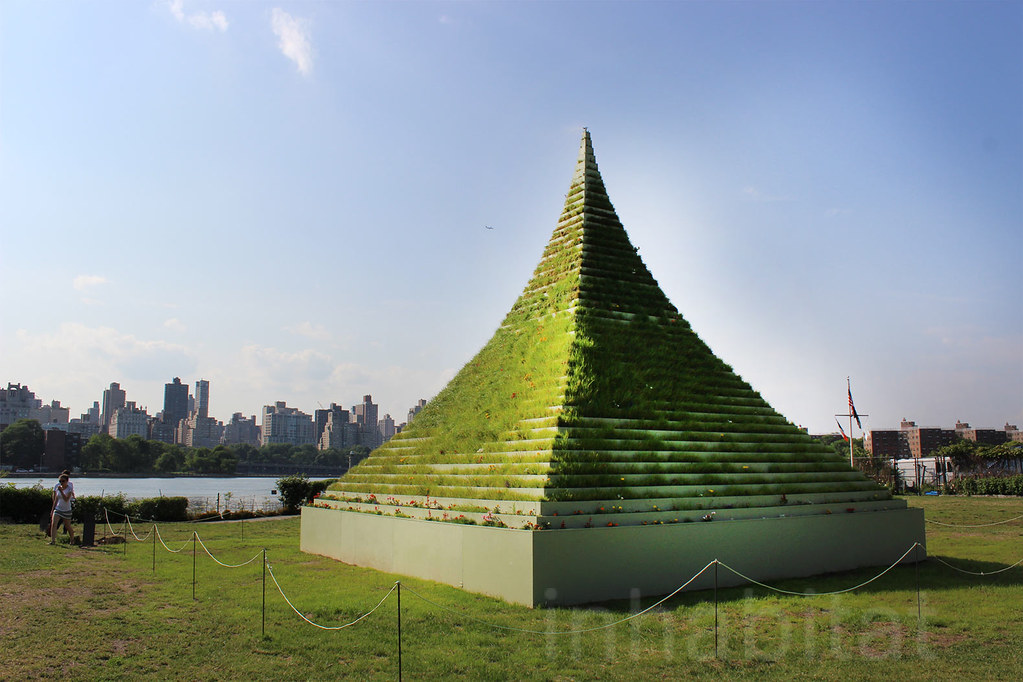 Agnes Denes' The Living Pyramid | Agnes Denes' Living ...