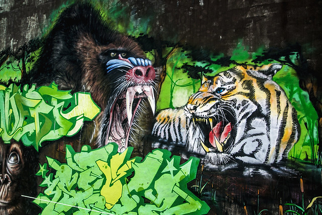 Arte Urbano en Noja