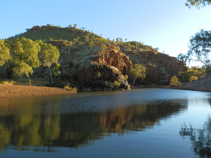 Caroline Pool via Halls Creek