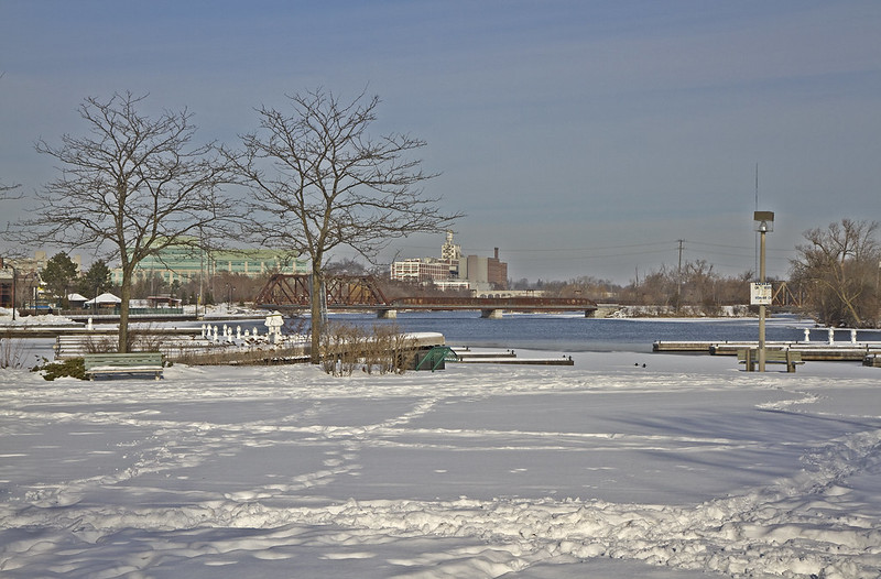 winter waterfront