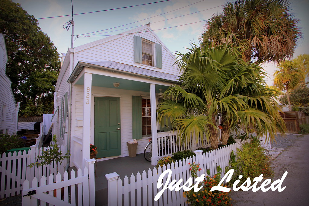 Key West Properties: 923 Angela Street, Key West - A Storybook Cottage