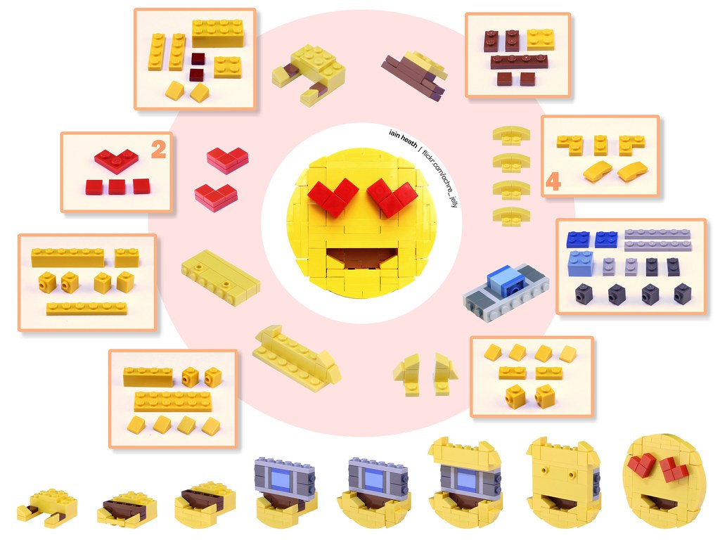 building guide emoji with heart eyes build one for valent flickr