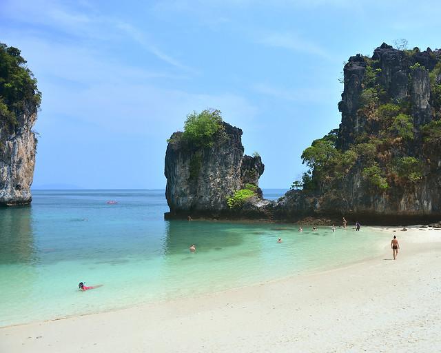 Playa de Koh Hong, sin duda de las mejores islas de Tailandia