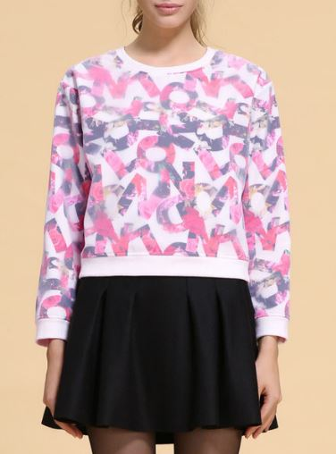 style we fuschia sweater