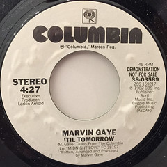 MARVIN GAYE:'TIL TOMORROW(LABEL SIDE-A)