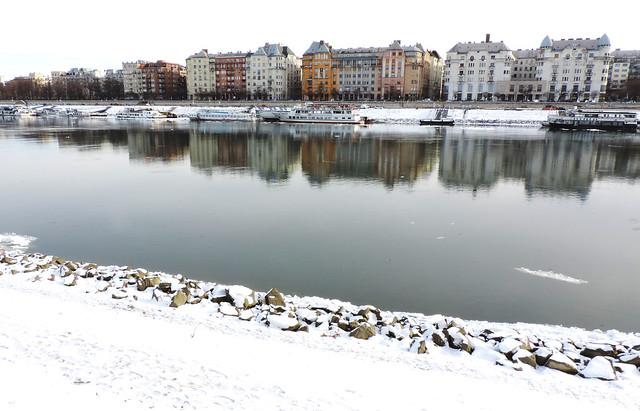 Frozen Budapest, Hungary