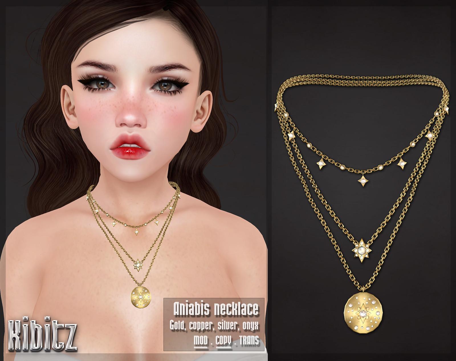kibitz aniabis necklace vendor