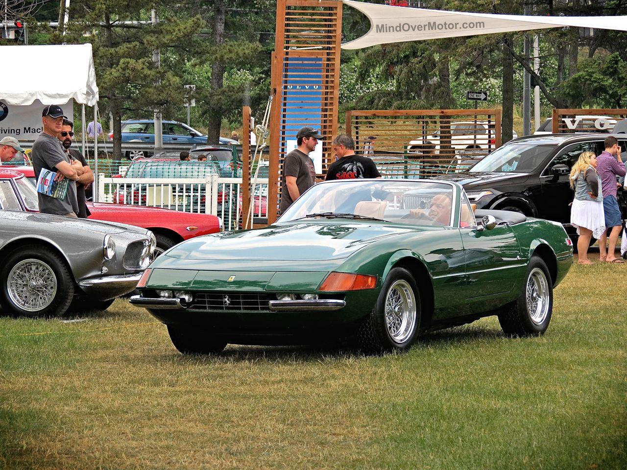Greenwich 2 Green Ferrari 365 Daytona Spider