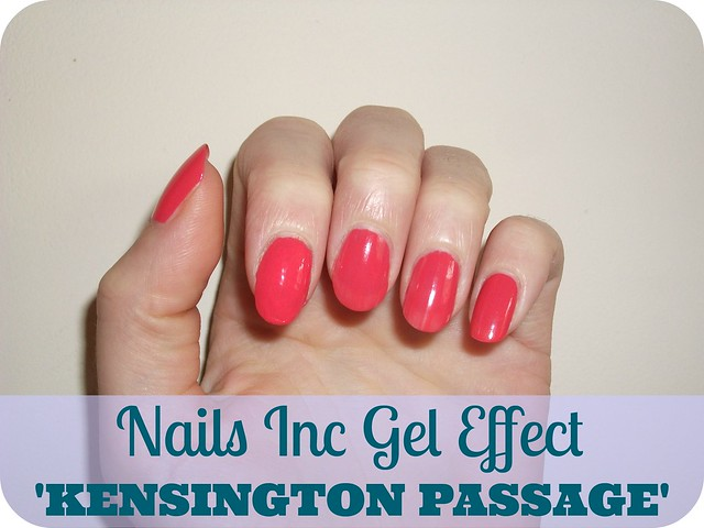 NOTD Nails Inc Gel Effect Kensington Passage