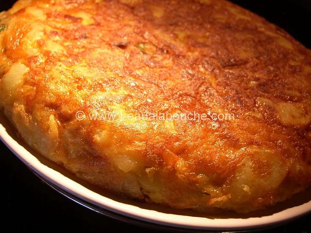 Tortilla de Patates au Chorizo & Piments © Ana Luthi Tous droits réservés 13