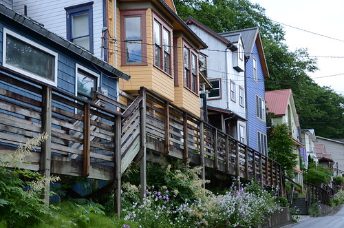 """Row housing"" in Juneau, AK"