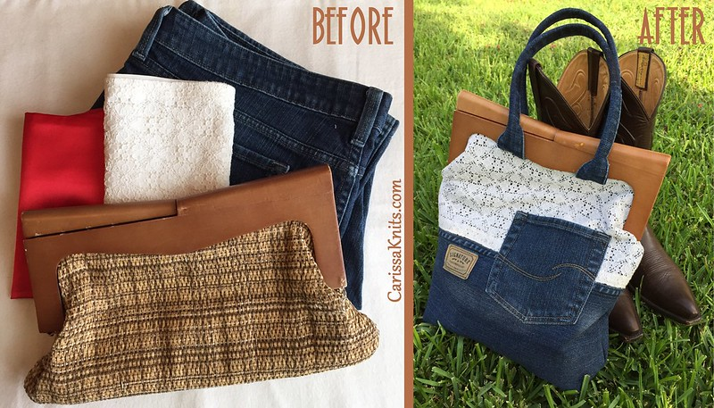 Americana Bag Before & After