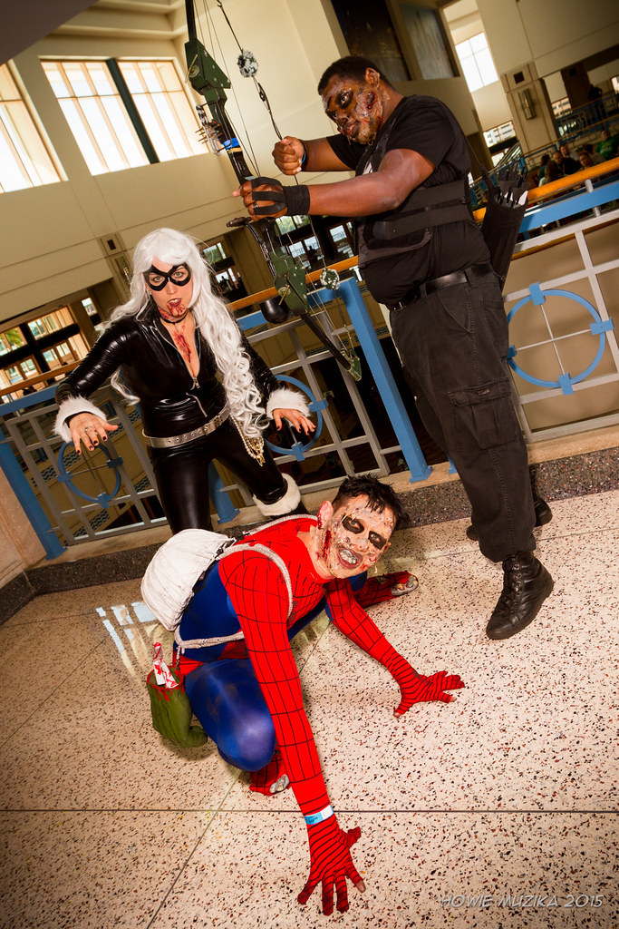 Tampa Bay Comic Con 2015 Cosplay Marvel Zombies Spider Flickr