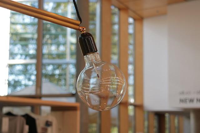 nordic embassy berlin exhibition - lightbulb