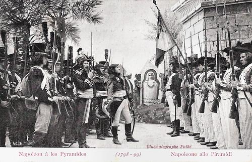 Napoléon á les Pyramides (1798-99)