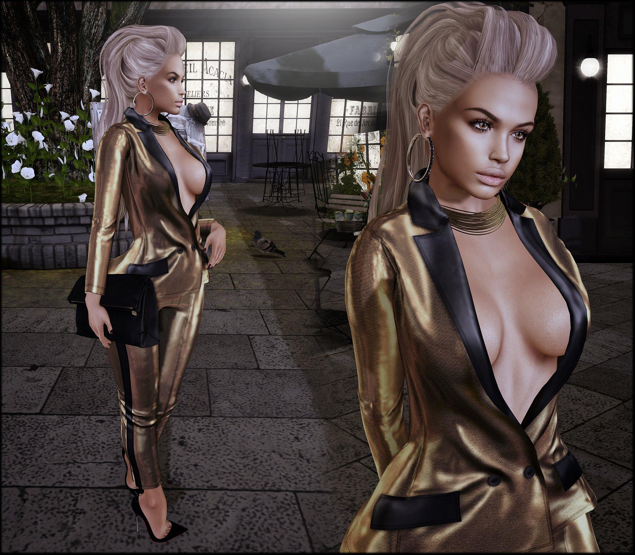Gold Tux