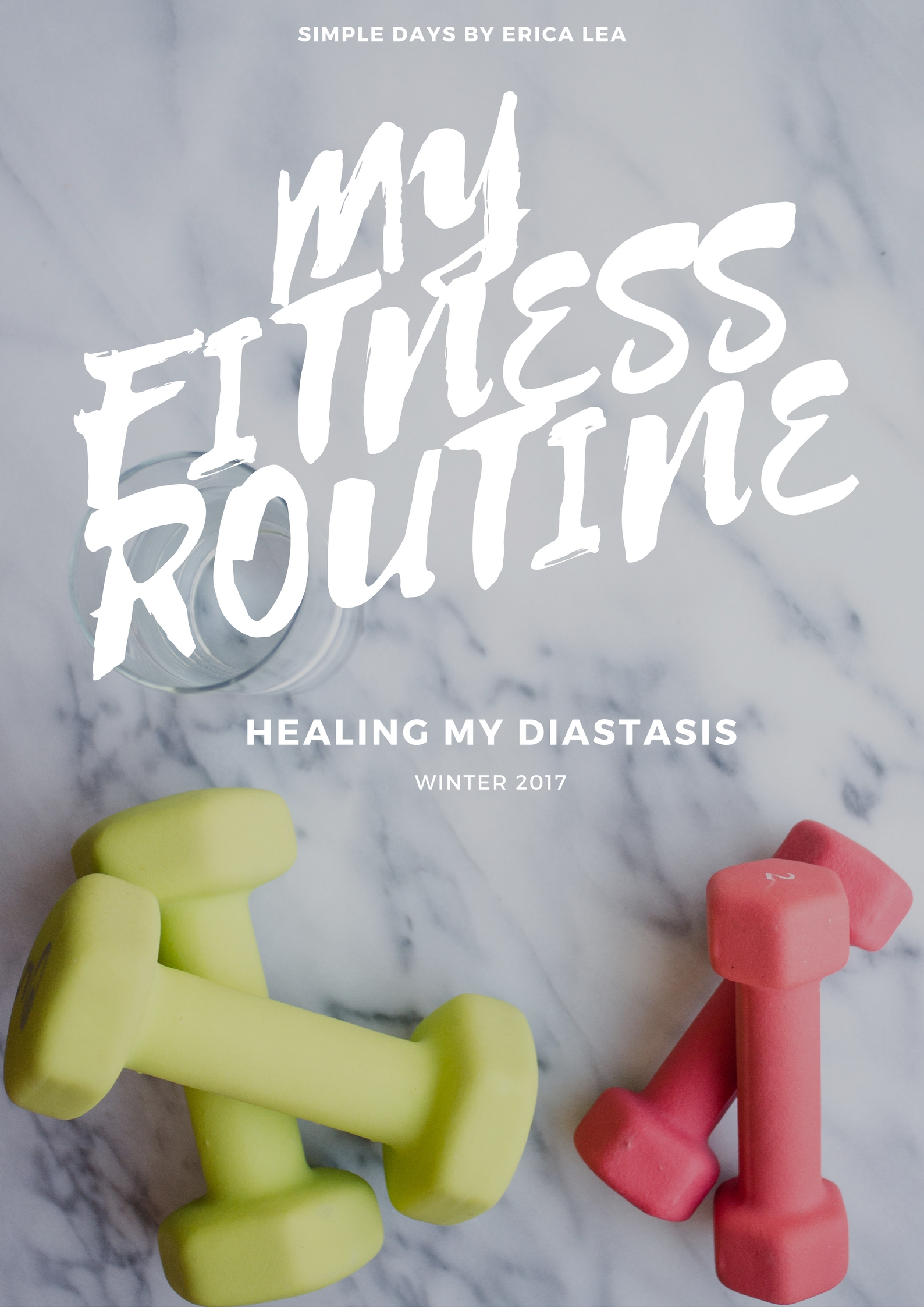 My Fitness Routine | Healing My Diastasis Recti