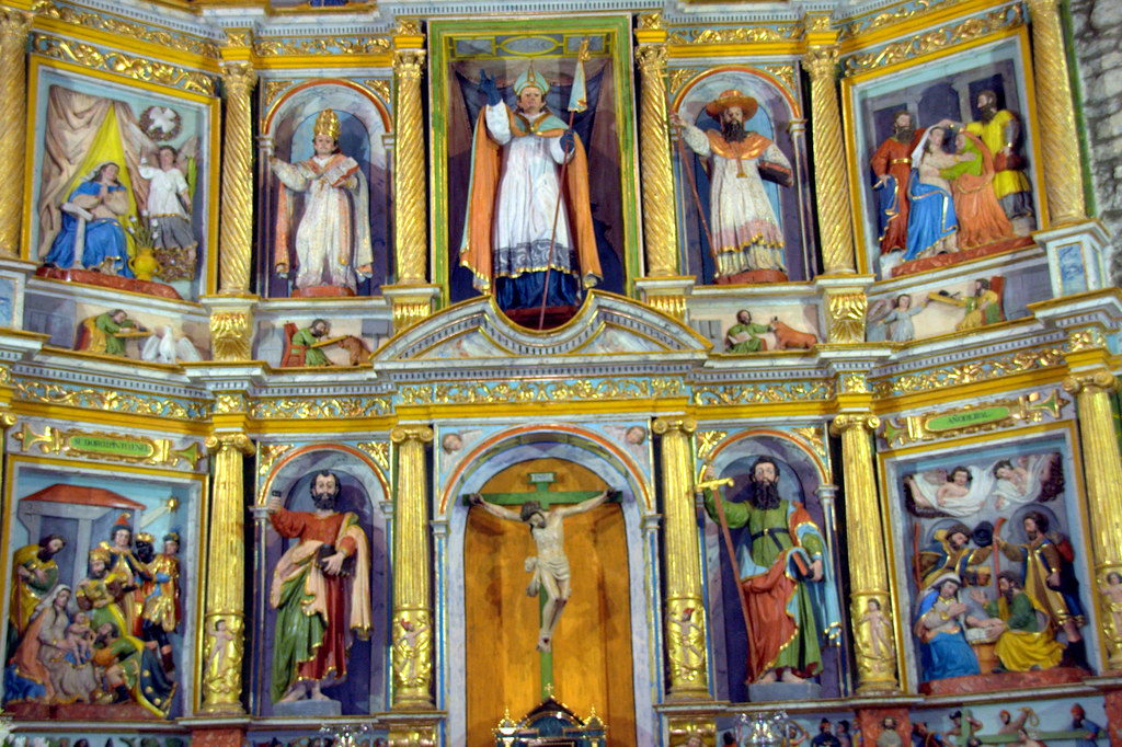 Retablo del altar mayor