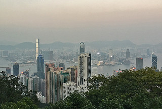 Victoria Peak - View of HK Central