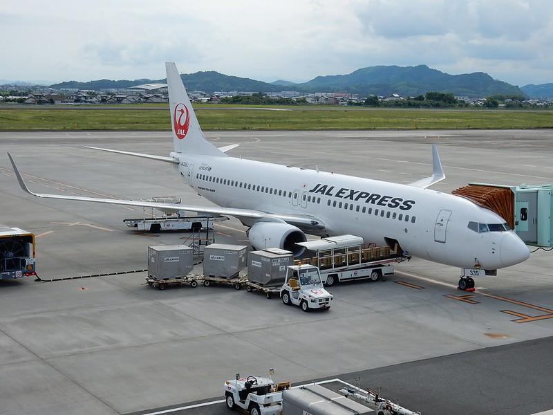 JAL B737-800 JA335J / KCZ